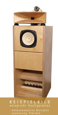 AOS BK 206/3 Kit de Altavoz Con Caja de Madera MDF Incl....