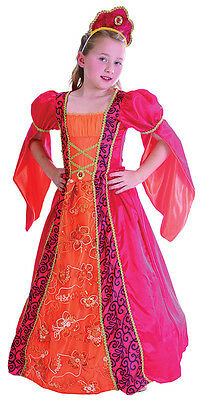 Princess Deluxe Fairy Tale Queen Fancy Dress Costume All Ages
