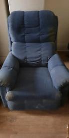 Snug Fabric Armchair