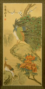 Beautiful Chinese painting on silk