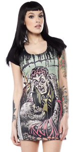 "Kreepsville 666 Tales from the Crypt ""Gravebuster"" 3X Dress"