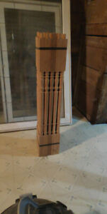 Hardwood pickets for sale 50 in total 36 inch colonial