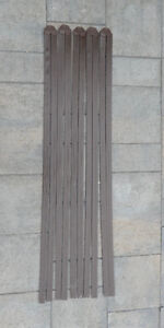 Chain Link Fence Privacy Slats with Topper