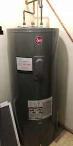 Electric water heater, in perfect working order, 1 year old