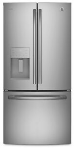 GE Profile French Door Fridge with Ice and Water Dispenser  S.S.