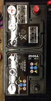 Moll Type 49 car/SUV battery (Made in Germany)