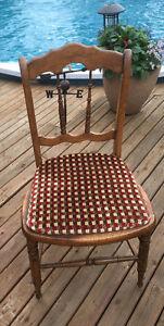 4 Hardwood Chairs