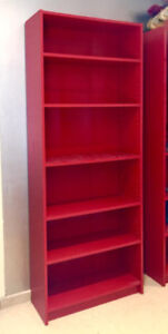WANTED: Red Billy Bookcases