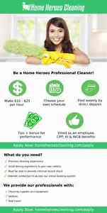 LOCAL Cleaning Company Hiring NOW. Up to $25/hr+ Tips+Benefits