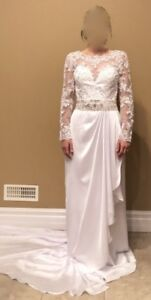 Elegant and Contemporary Wedding Dress