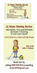 Li house cleaning service Denistone Ryde Area Preview