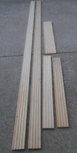 Wood Trim Fluted Door Casing