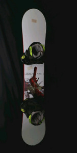 Ride Havoc 159 snowboard + bindings + mens size 9 boots