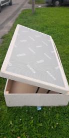 £250 single ottoman side lifting bed and mattress