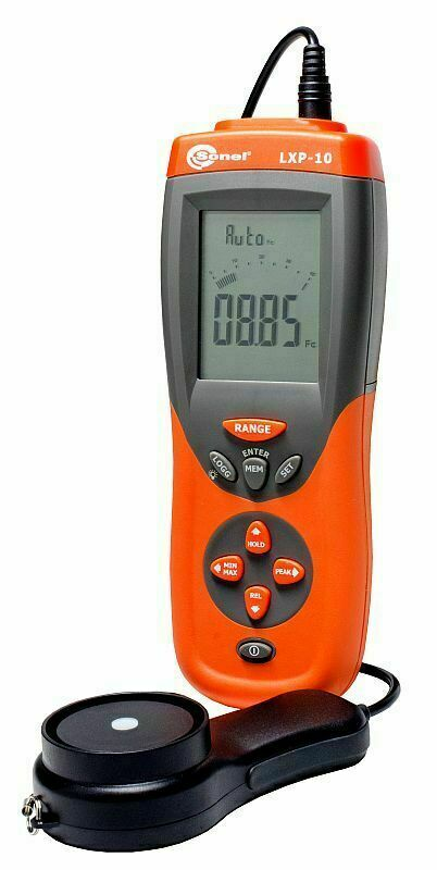 Sonel LXP-10A Light Meter Resolution 0.01 lx (0.001 fc) Lux Class A