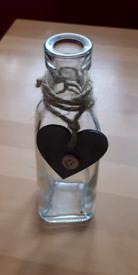 Joblot Little glass bottles / vase