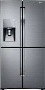 SAMSUNG 4-Door FleX Refrigerator with FlexZone BRAND NEW LOWEST