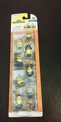 New Movie Minions 8-Piece Gift Set Figures Wal-Mart Exclusive  - Walmart Minions