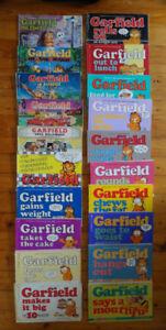 Collection of 20 GARFIELD cartoon books