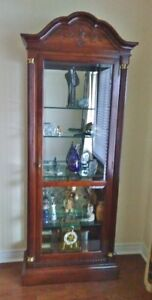 """DISPLAY CABINET / ETAGERE – 82"""" H x 32"""" W x 13"""" D o"""