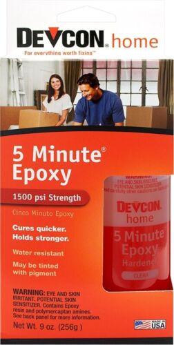 Devcon 5 Minutes 20945 Epoxy Adhesive Amber 4.5 oz Bottle 20945