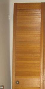 bi fold doors  full louvre