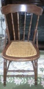 Vintage Cane Seated Chair