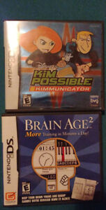 Game boy advance and Ds games