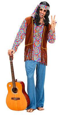 Klassisches Hippie Kostüm Chill-Out für Herren NEU - Herren Karneval Fasching - Klassische Herren Kostüm