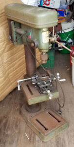 Stand Up Drill Press and Drill Bits