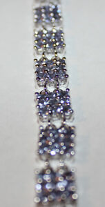Two Tanzanite Silver Bracelets