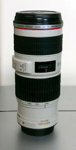 Canon 70-200 mm F4 L IS version lens