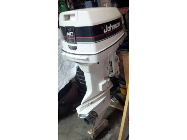 Used 1990 Johnson 140 HP, 20: shaft