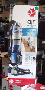 HOOVER AIR CORDLESS LIFT DELUXE BAGLESS UPRIGHT VACUUM