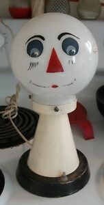 Vintage Scarecrow/Raggedy Andy Lamp