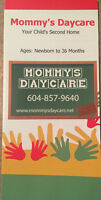 Mommy's Infant and toddler daycare centre Aldergrove