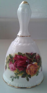"Royal Albert Bone China "" Old Country Roses"" Dinner Bell"