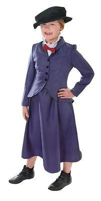 Nanny. Bambini (Medio Età 6-8), Mary Poppins Ragazze Costumi, Costume