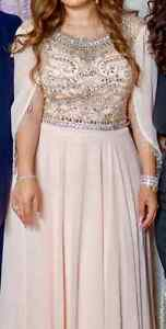 Gorgeous Heavily Beaded Couture Dress Windsor Region Ontario image 2