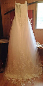 Beautiful custom made Wedding dress