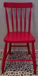 Antique ACCENT Chair PAGODA Pink