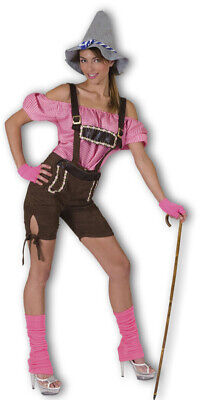 Tirolerin Lederhosen Kostüm Damen Bluse Trachtenhose Oktoberfest %SALE% Gr 44 - Oktoberfest Damen Kostüm