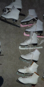Figure skates women's sizes 5, 6, 7 and 9 $15 - $20 per pair