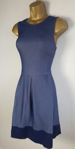 Stradivarius Navy Blue Dress