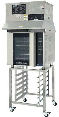Moffat Turbofan Electric Convection Oven W Ventless Hood And Stand