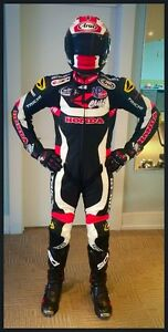 Brand new custom Taichi Leather Racing Suit. 2000.00 cost