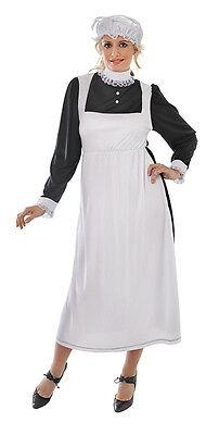 Viktorianisch oder Edwardian Dienstmädchen Damen Kostüm Halloween - Viktorianischen Damen Dienstmädchen Outfit Kostüm