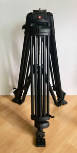 Manfrotto Video Tripod with manfrotto 501 ball head