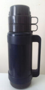 Thermos HOT WATER flask 1 Litre for BBQ Picnic Fishing Camping