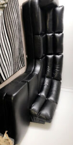 Great Black sofa With new leather